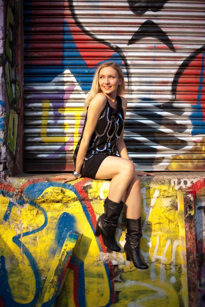 Irina ⋅ 5 Pointz, New York City ⋅ 2010