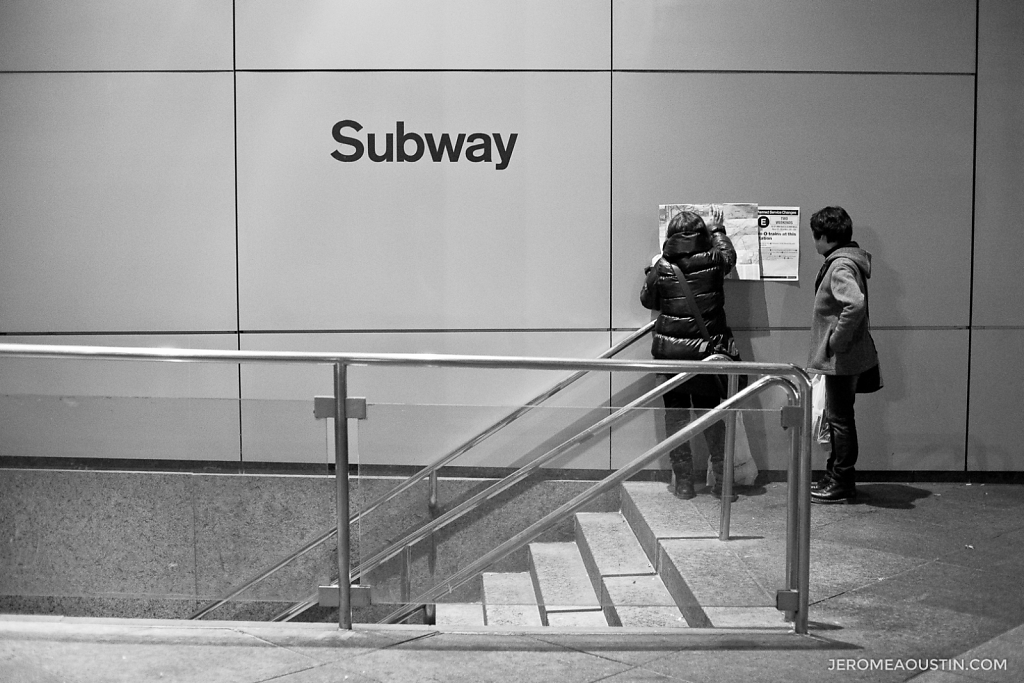 Subway ⋅ Midtown, NY ⋅ 2010
