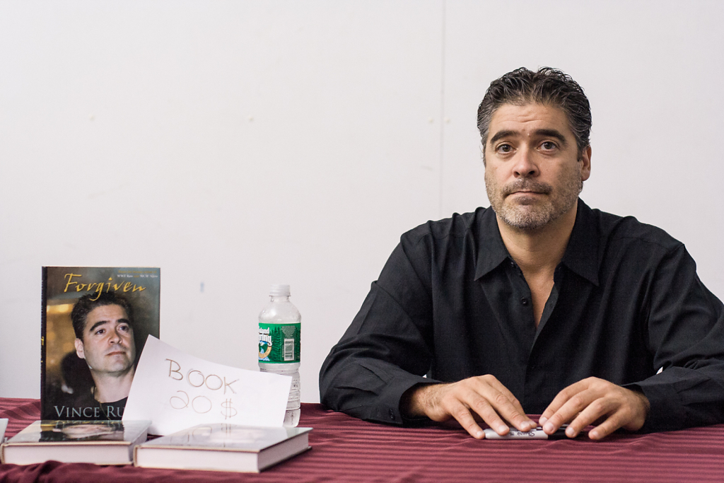 Vince Russo ⋅ WWE Convention, New York ⋅ 2007