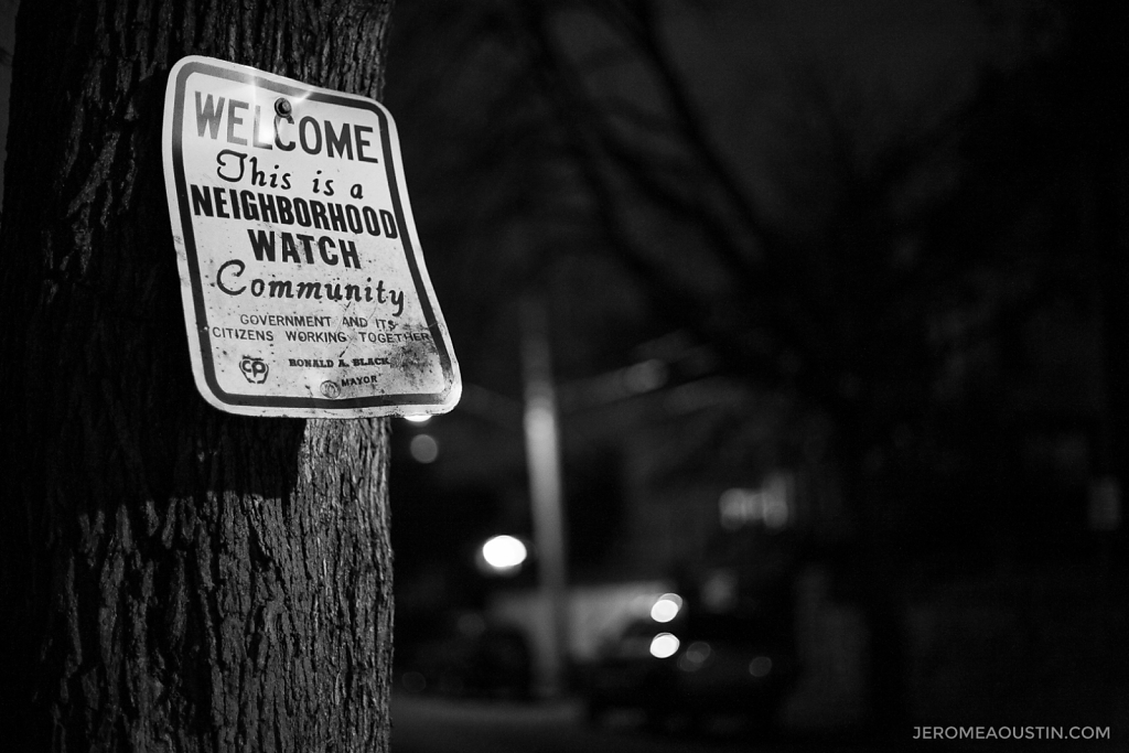 Neighborhood Watch ⋅ Fleetwood, NY ⋅ 2009