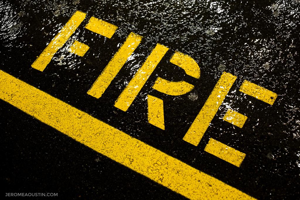 Water vs Fire ⋅ Fleetwood, NY ⋅ 2010